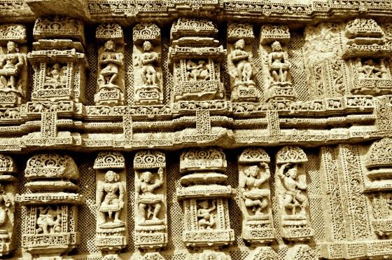 Surya Temple, Konârak, Orissa, India