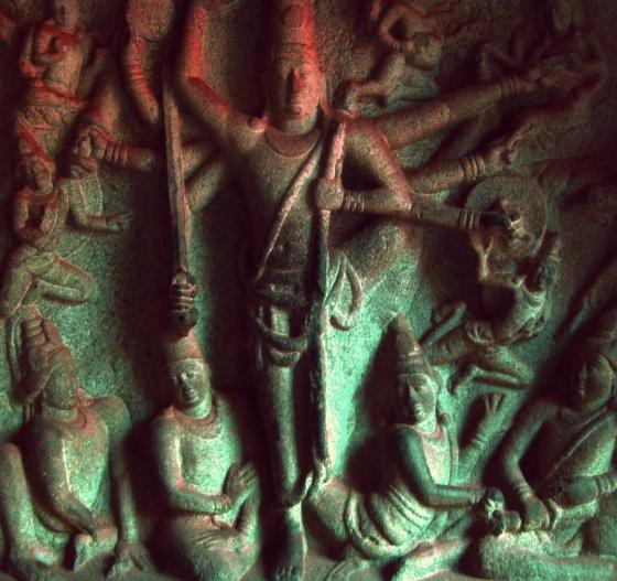 Monuments at Mahabalipuram Vikram Roy © Copyright 2012