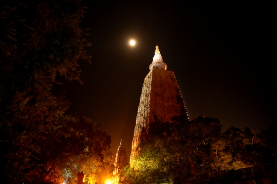 Mahabodhi Temple http://toddmerrifield.wordpress.com/2011/10/10/history-of-the-mahabodhi-temple-part-3-controversy/