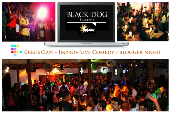 Black Dog Easy Nights, Photo collage - at Opus November 30, 2012