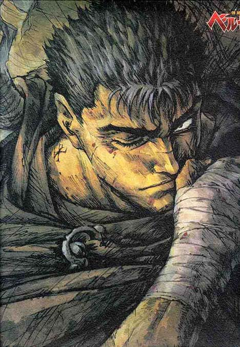 Guts, the orphaned mercenary