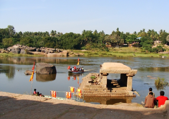 Tungabhadra River by Vikram Roy © Copyright 2013