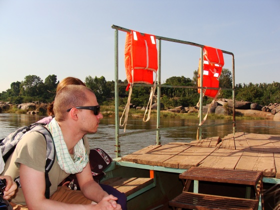 Tourists at the boat by Shekhar Roy © Copyright 2012