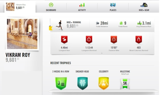 How I Can Calculate My Activity Through Nike Plus Aap?