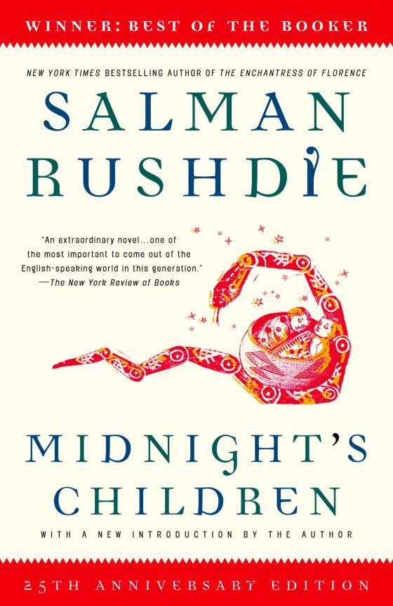 Midnights Children by Salman Rushdie