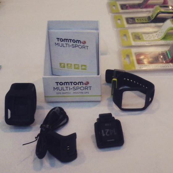 Multi Sport GPS Watch from TomTom unboxed. Photo : Vikram Roy 2015