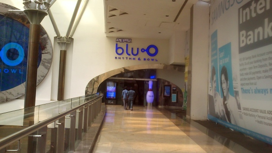 Pepsi blu.O bowling centre is a cool joint at the top floor of Orion Mall, Photography  Vikram Roy © 2015