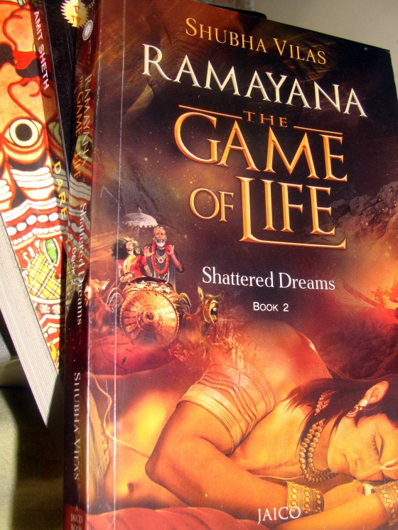 Photo: Ramayana The Game of Life Book 2 by Vikram Roy © Copyright 2015