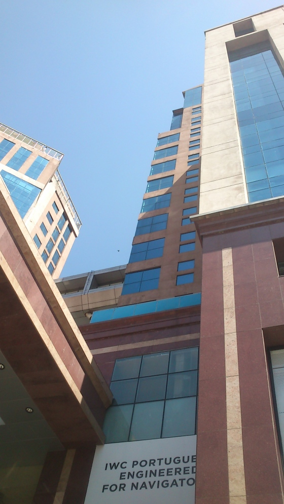 UB City Mall one of the popular Skyscraper in Bangalore Photographed by Vikram Roy © Copyright 2015