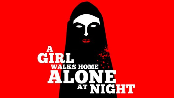 Poster: A Girl Walks Home Alone at Night (2014)