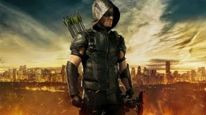 Photo: Stephen Amell as Oliver Queen, from The CW's Arrow Television Series