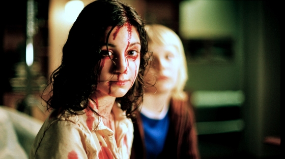 Lina Leandersson as Eli in Let the Right One In (2008)