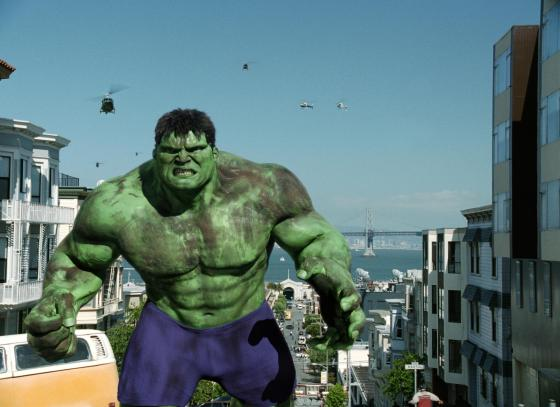 Marvel and Ang Lee's Hulk (2003)