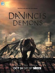 Poster: Da Vinci's Demons from Starz