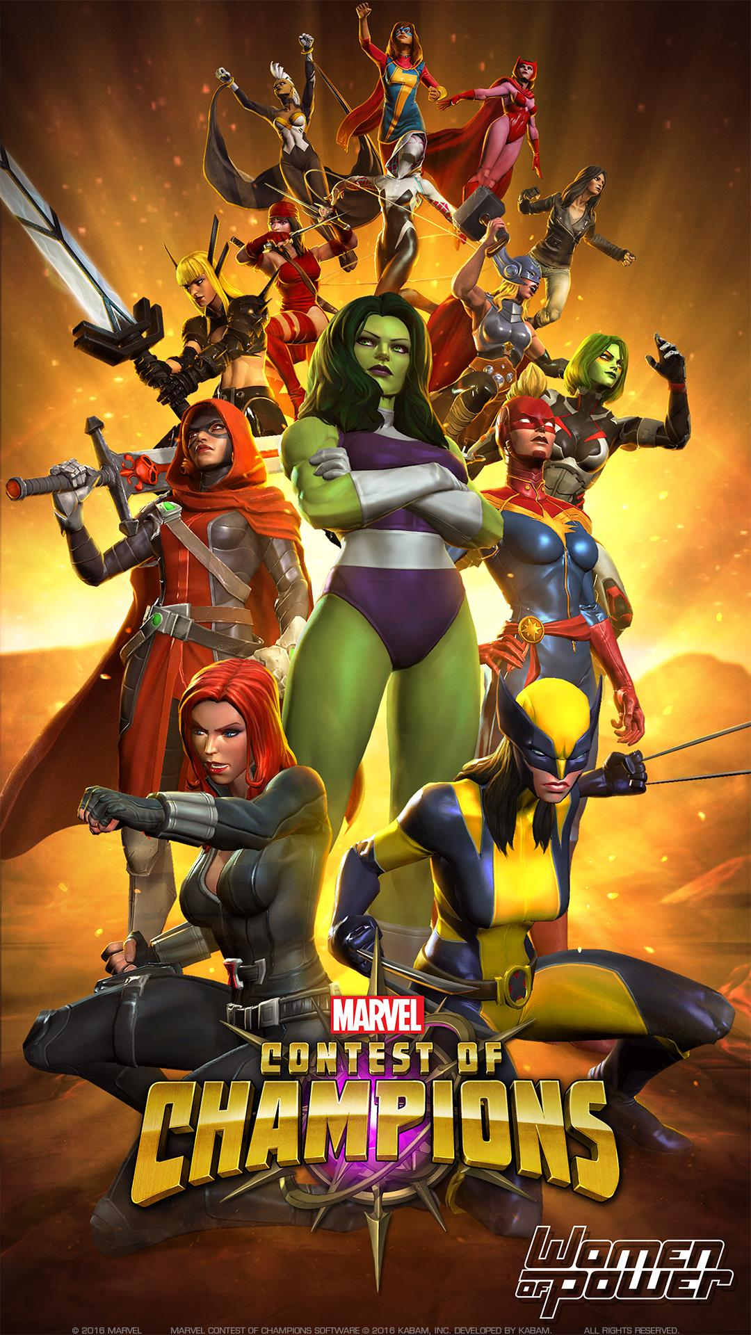 top 10 strong women champions in marvel contest of champions
