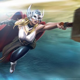 Thor-Jane Poster Marvel Contest of Champions