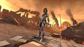 Screenshot: Gamora, Marvel Contest of Champions
