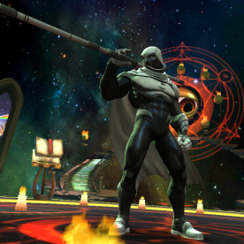 Screenshot: The Moon Knight - Contest of Champions