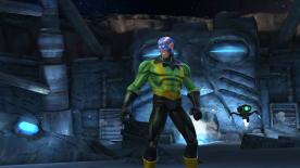 Screenshot: Electro Marvel Contest of Champions