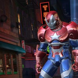 Screenshot: Iron Patriot Contest of Champions