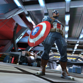 Screenshot: Captain America WWII, Contest of Champions