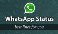 What's your TODAY's WhatsApp Status?